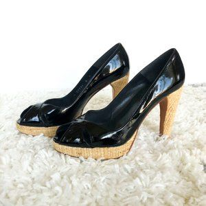 Stuart Weitzman Platform Pumps Patent Leather